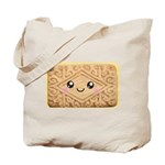 Cute Vanilla Cream Cookie Tote Bag
