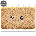 Cute Vanilla Cream Cookie Puzzle