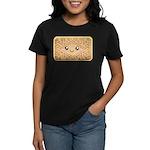 Cute Vanilla Cream Cookie Women's Dark T-Shirt