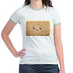 Cute Vanilla Cream Cookie Jr. Ringer T-Shirt