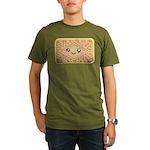 Cute Vanilla Cream Cookie Organic Men's T-Shirt (d
