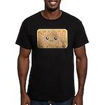 Cute Vanilla Cream Cookie Men's Fitted T-Shirt (da