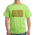 Cute Vanilla Cream Cookie Green T-Shirt