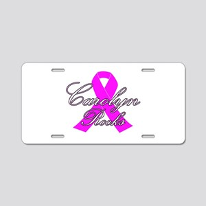 Mrs Carolyn to be Aluminum License Plate