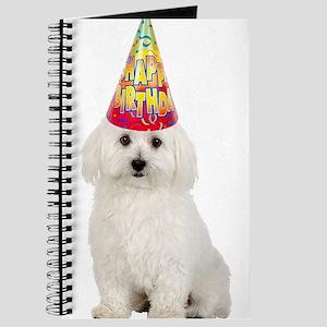 Bichon Frise Birthday Journal