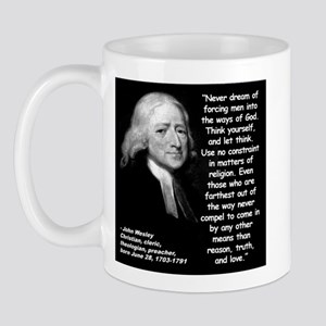 Wesley Religion Quote 2 Mug