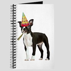 Boston Terrier Birthday Journal