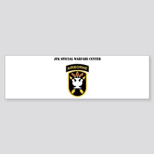 SSI - JFK Special Warfare Center with Text Sticker