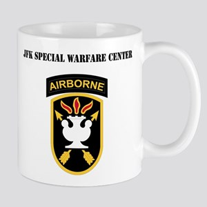 SSI - JFK Special Warfare Center with Text Mug