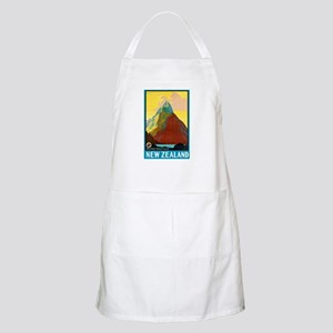 New Zealand Travel Poster 7 Apron