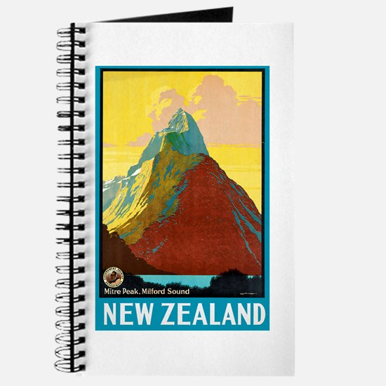 New Zealand Travel Poster 7 Journal