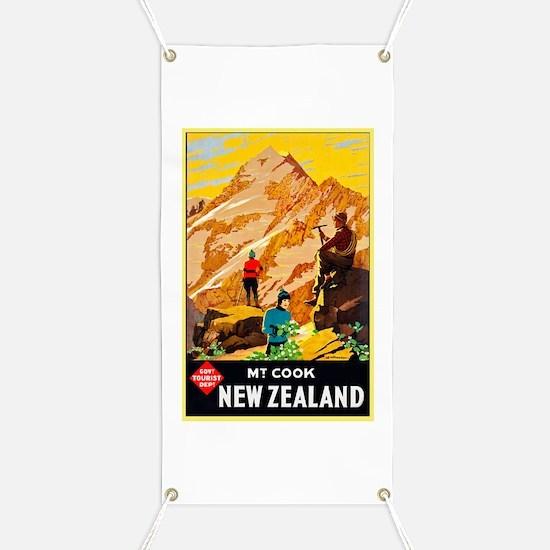 New Zealand Travel Poster 9 Banner