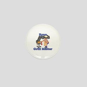 Grill Master Ryan Mini Button