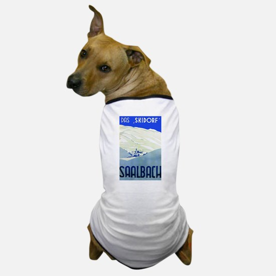 Austria Travel Poster 1 Dog T-Shirt