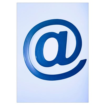 Email symbol Poster