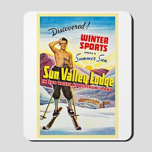 Idaho Travel Poster 1 Mousepad