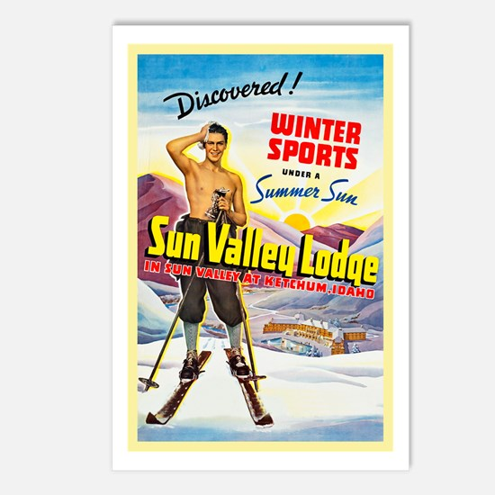 Idaho Travel Poster 1 Postcards (Package of 8)