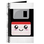 Cute Floppy Disk (Red) Journal