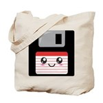 Cute Floppy Disk (Red) Tote Bag