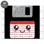 Cute Floppy Disk (Red) Puzzle