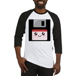 Cute Floppy Disk (Red) Baseball Jersey