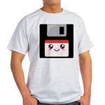 Cute Floppy Disk (Red) Light T-Shirt