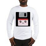Cute Floppy Disk (Red) Long Sleeve T-Shirt