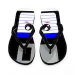 Kawaii Floppy Disk (Blue) Flip Flops