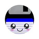 Kawaii Floppy Disk (Blue) 3.5