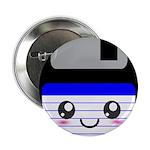 Kawaii Floppy Disk (Blue) 2.25