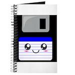 Kawaii Floppy Disk (Blue) Journal