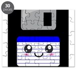 Kawaii Floppy Disk (Blue) Puzzle