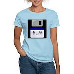 Kawaii Floppy Disk (Blue) Women's Light T-Shirt