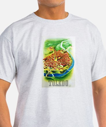 Spain Travel Poster 1 T-Shirt