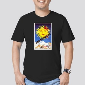 Switzerland Travel Poster 6 Men's Fitted T-Shirt (