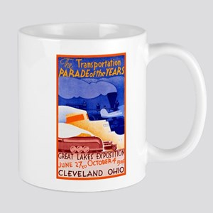 Cleveland Travel Poster 1 Mug