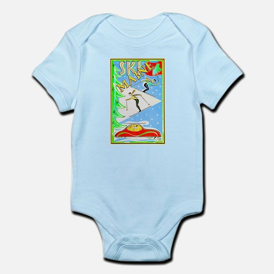 Maine Travel Poster 1 Infant Bodysuit