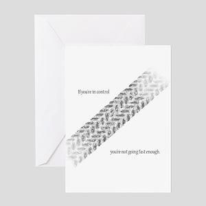 Fast Enough Greeting Card