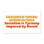Communism and Socialism 20x12 Wall Decal