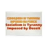 Communism and Socialism Rectangle Magnet (100 pack