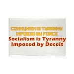 Communism and Socialism Rectangle Magnet