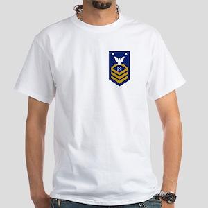 USCG Reserve BMCM<BR> White T-Shirt