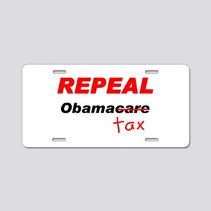 Repeal Obamacaretax Aluminum License Plate