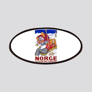 Norway Travel Poster 1 Patches