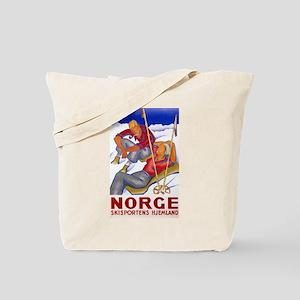 Norway Travel Poster 1 Tote Bag