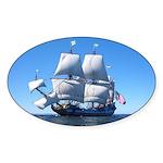 Main Ship Sticker (Oval)