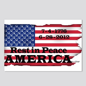 RIP America Postcards (Package of 8)