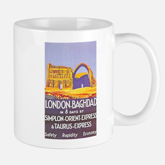 Iraq Travel Poster 1 Mug