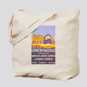 Iraq Travel Poster 1 Tote Bag