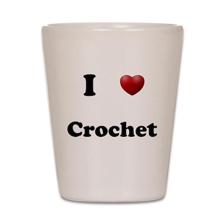 Crochet Shot Glass